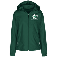 LST76 Ladies' Jersey-Lined Hooded Windbreaker
