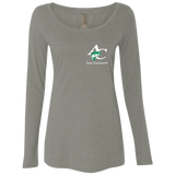 NL6731 Ladies' Triblend LS Scoop