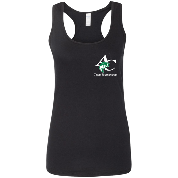 G645RL Ladies' Softstyle Racerback Tank
