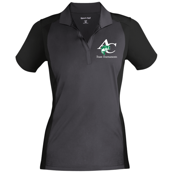 LST652 Ladies' Colorblock Sport-Wick Polo