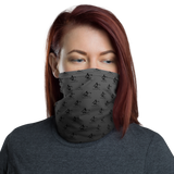 Neck Gaiter, Black - Grey GradInverse