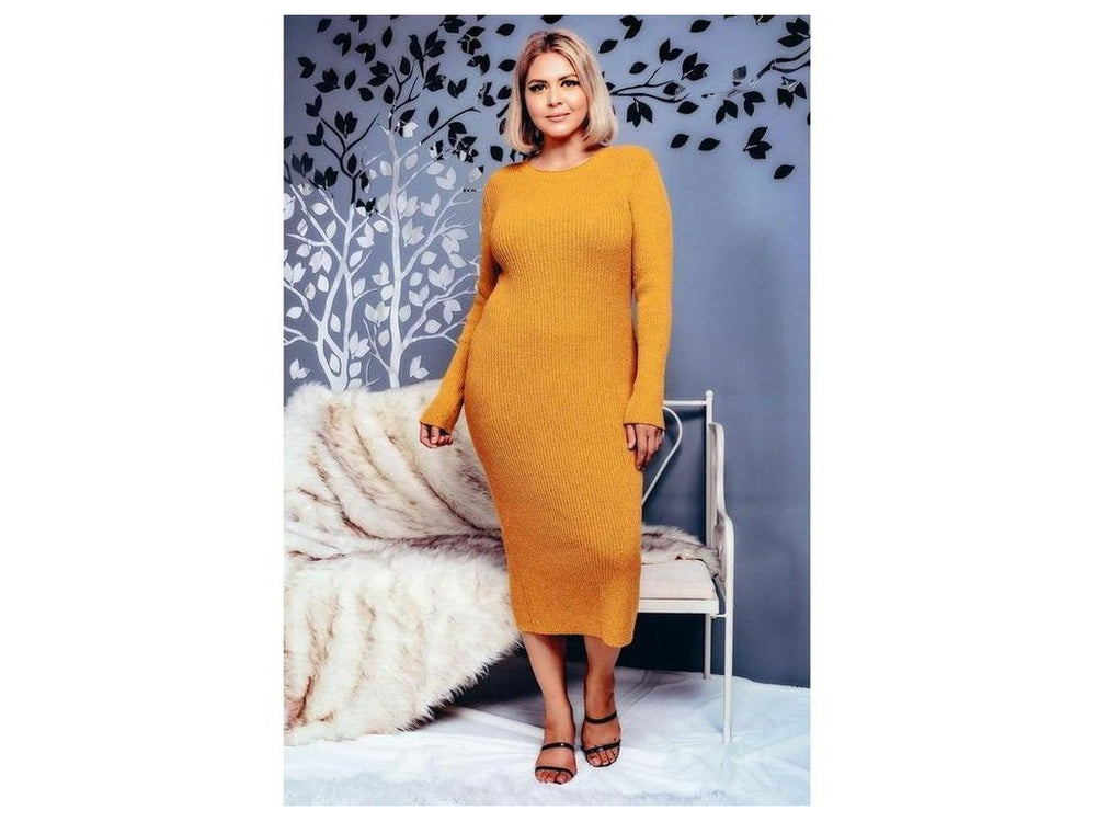 2 Piece Sweater Dress Sets Loose Turtleneck Sweaters Shawl Poncho Cape and Bodycon Midi Dresses