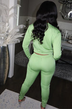 Matcha Green Jogger Set
