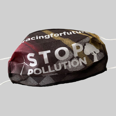 "eco Grand Prix ""Stop Pollution"" Mask"