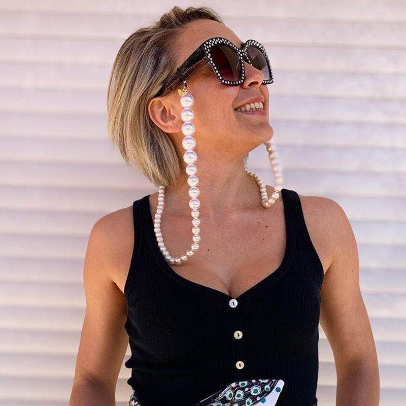 Secret Story Jewelry Accessories Bold Pearl Glasses Chain