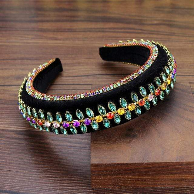 Secret Story Jewelry Accessories Color Crystal Padded Headbands