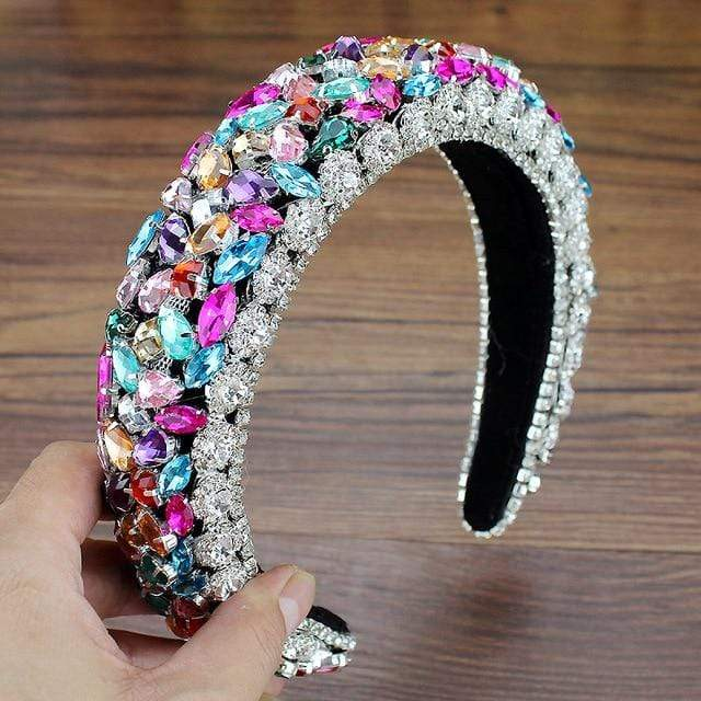 Secret Story Jewelry Accessories Crystal Padded Headbands