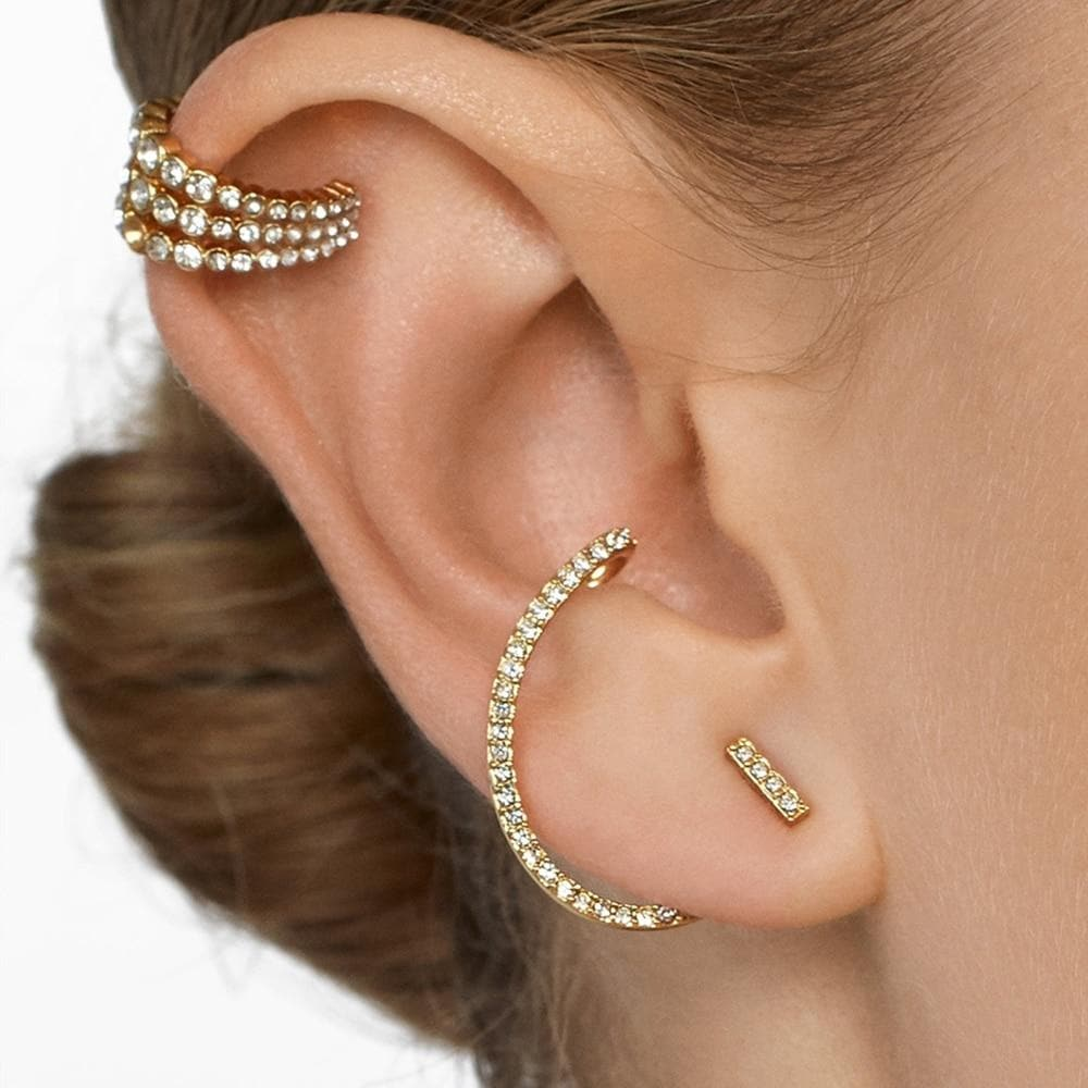 Secret Story Jewelry Earring Crystal Rhinestone Cubic Zirconia Earrings and Ear Clips