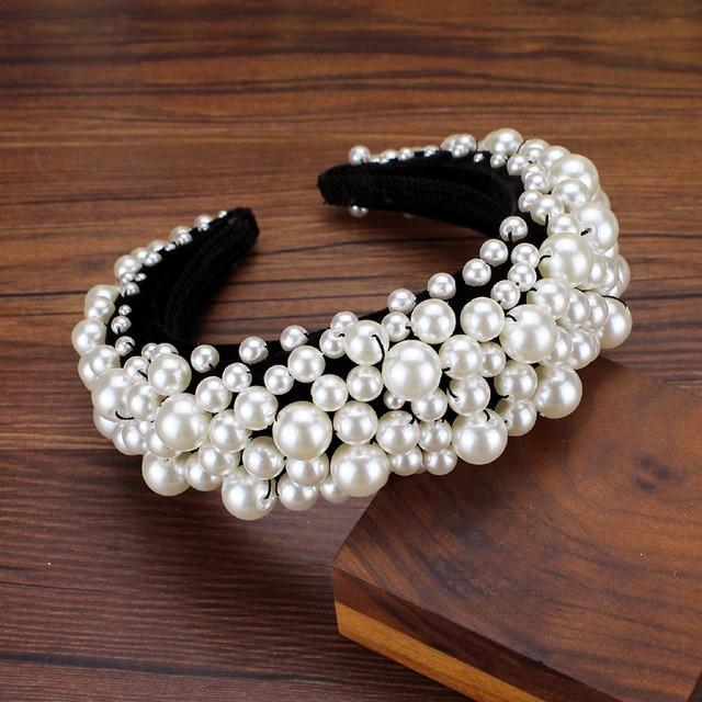 Secret Story Jewelry Accessories Pearl Padded Headbands