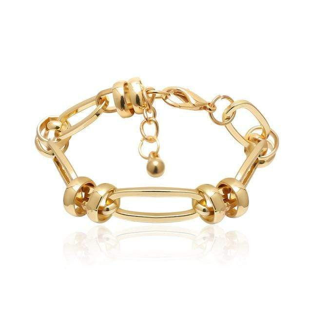 Secret Story Jewelry Bracelet Vintage Bold Gold Chain Bracelets