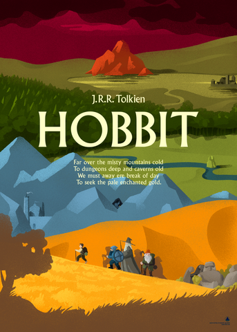 Hobbit by J.R.R. Tolkien