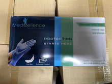 Load image into Gallery viewer, MedCellence Disposable Nitrile Gloves(100pcs) - CanMedic Tech