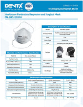 Load image into Gallery viewer, FN-N95-2020H Health Care Particulate Respirator[MADE IN CANADA] - CanMedic Technology Inc.