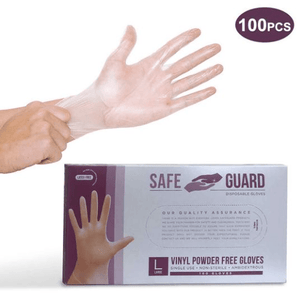 SafeGuard Vinyl Disposable Glove - CanMedic Tech