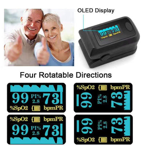 Fingertip Pulse Oximeter - CanMedic Tech