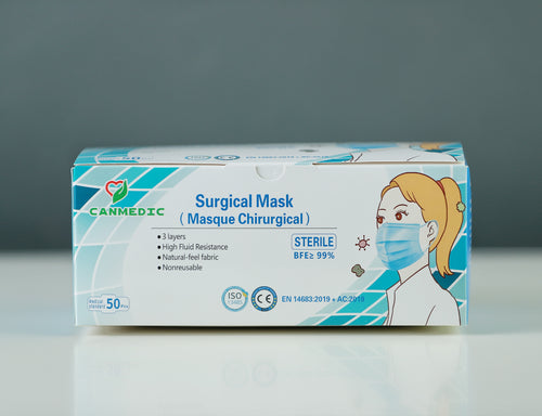 Surgical Mask (STERILE) - CanMedic Tech