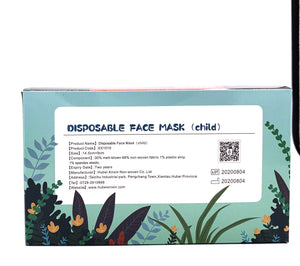 ASTM Lvl 1 Children's Disposable Medical Face Mask (30pcs/box) - CanMedic Tech