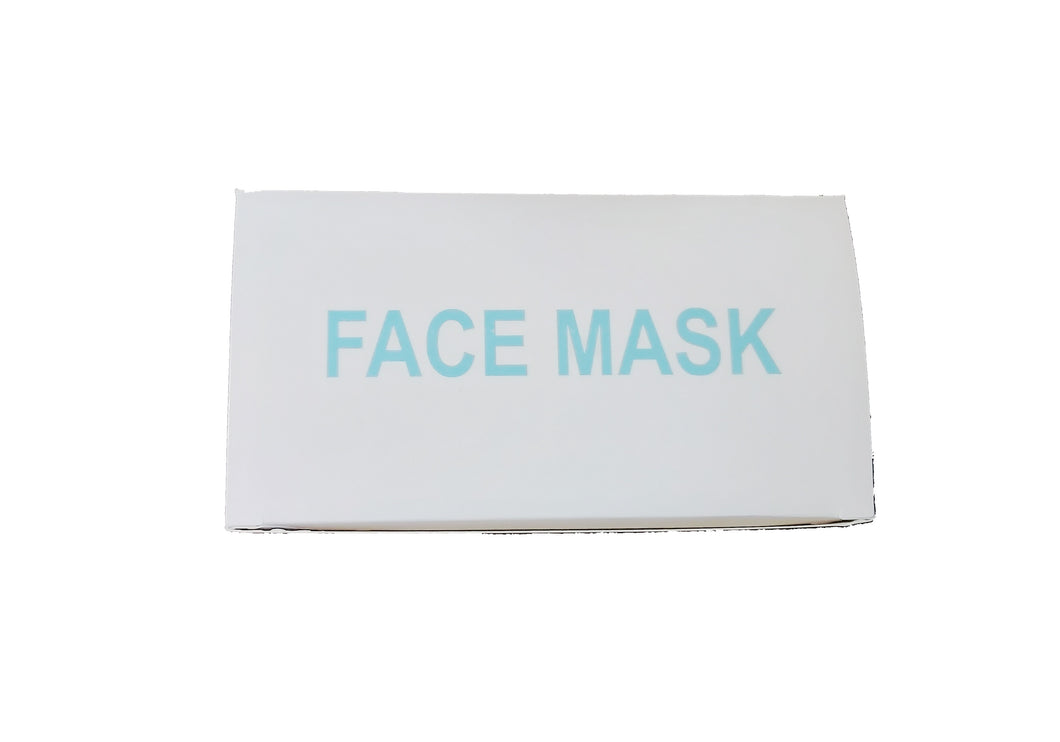 Disposable Face Mask (50 PCS) - CanMedic Tech