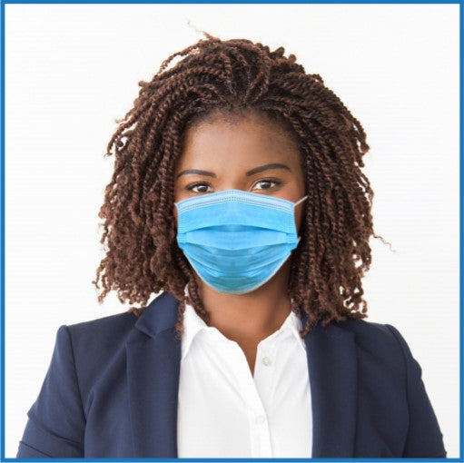 ASTM Level 3 Surgical Mask - [MADE IN CANADA] - CanMedic Tech