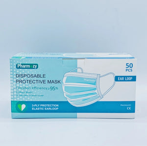 Pharmozy Life Care Disposable Protective Mask (50PCS) - CanMedic Tech