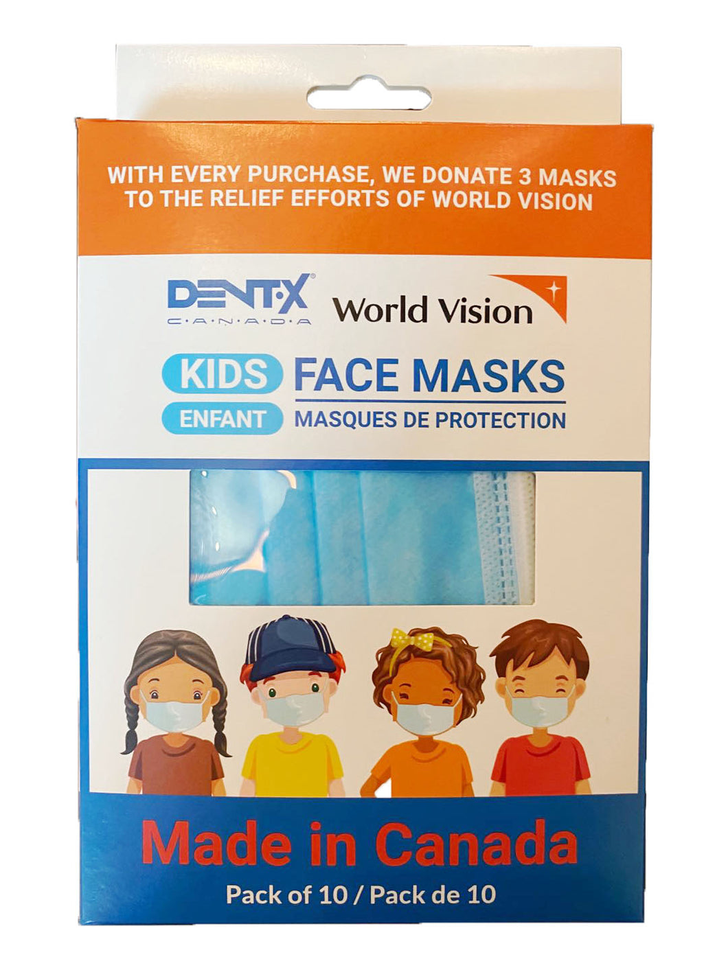Surgical Mask for Kids [MAKE IN CANADA] - CanMedic Tech