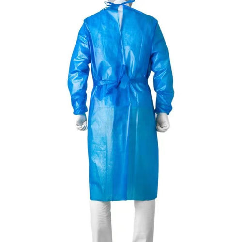 Protective Isolation Gown Level 3 (10PCS) - CanMedic Tech