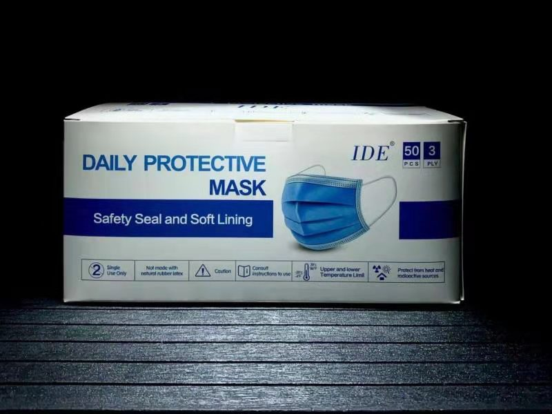 IDE DAILY PROTECTIVE MASK- BLUE - CanMedic Tech