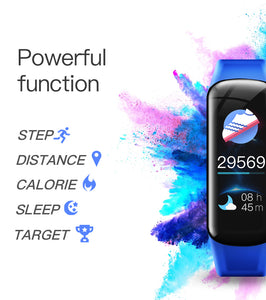 Waterproof Heart Rate, Blood Oxygen/Pressure Smart Bracelet - CanMedic Tech