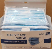 Load image into Gallery viewer, IDE DAILY PROTECTIVE MASK- BLUE - CanMedic Tech
