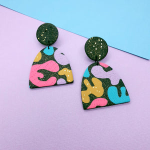 Shine Bright - Large Mountain Drop Statement Earrings
