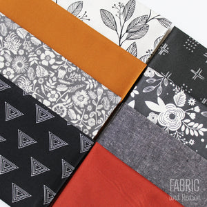 Shadows and Spice Fat Quarter Bundle