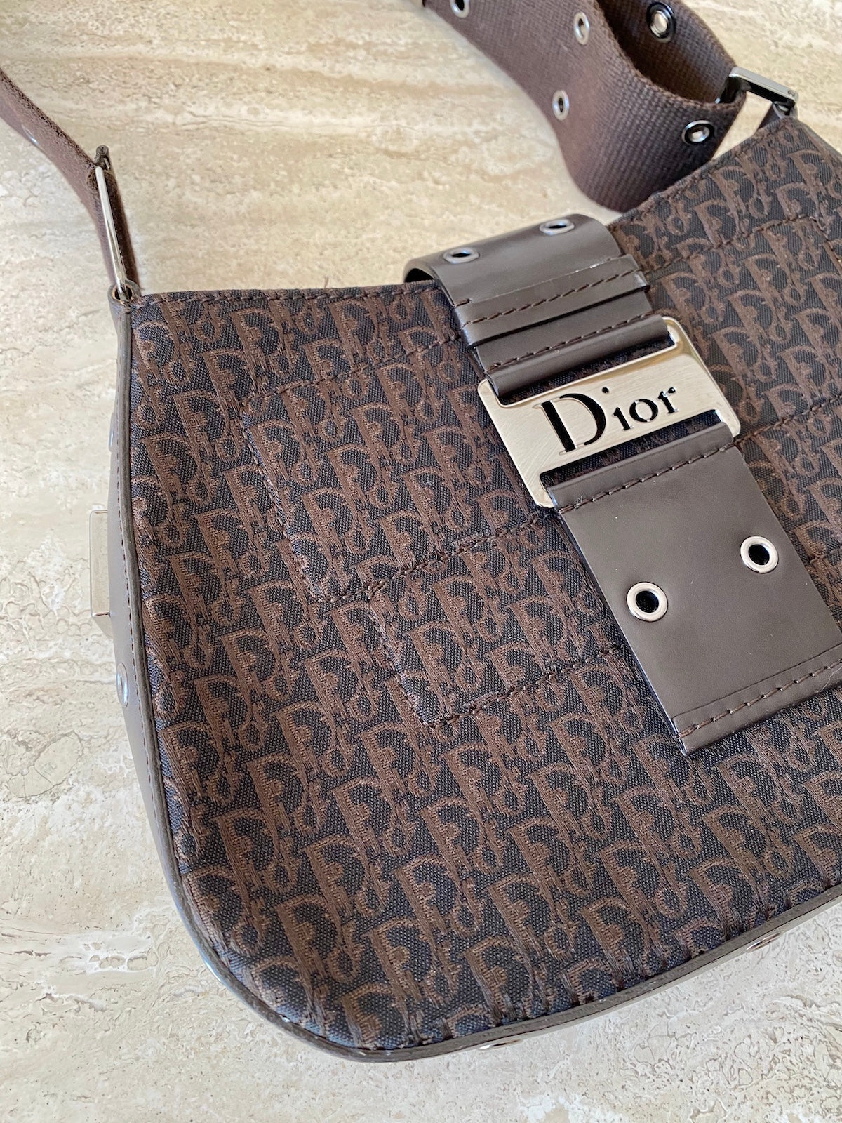Dior Street Chic Canvas Purse + Wallet