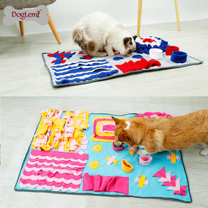 Pet Activities Training and Feeding Blanket
