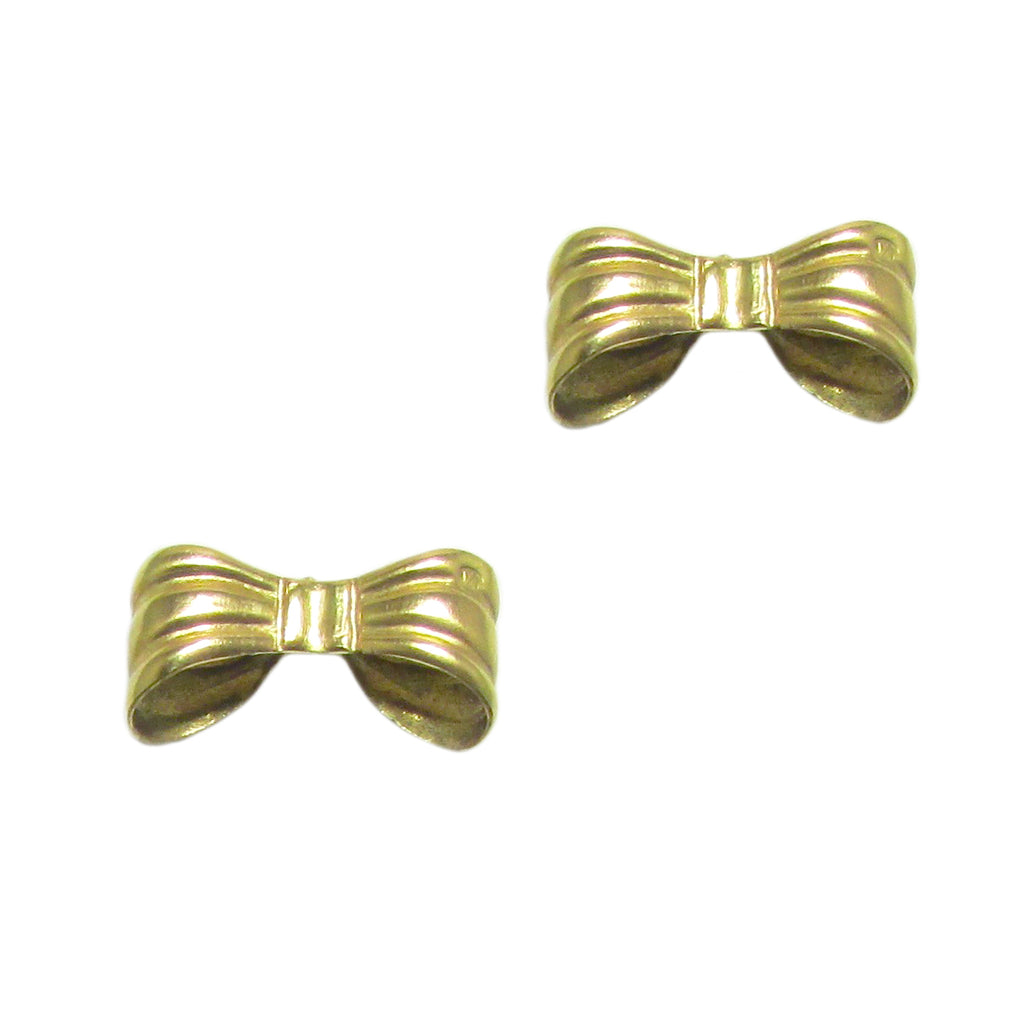 40% OFF! Antique 18k Bow Earrings