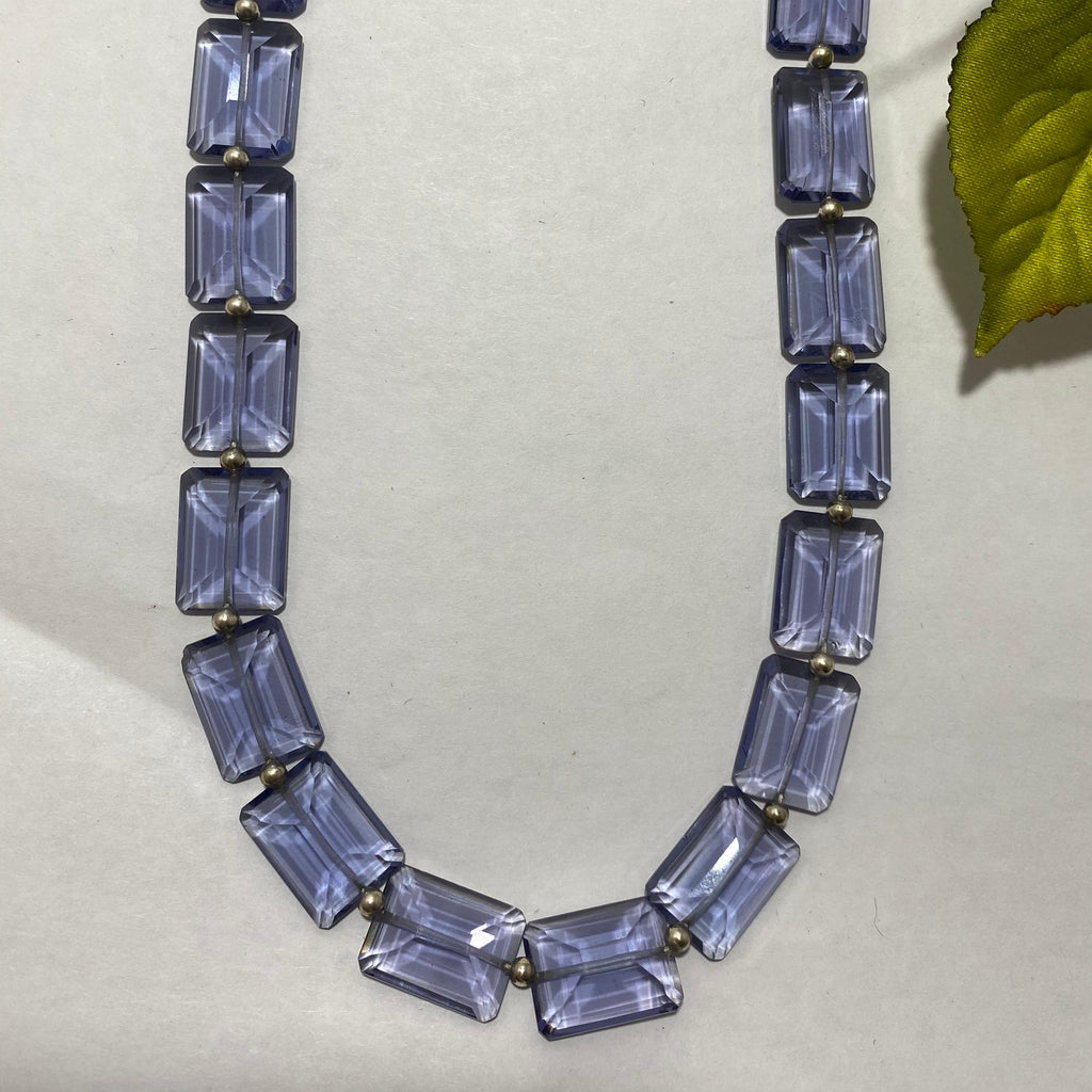 20% Off Lilac Quartz Beaded Necklace