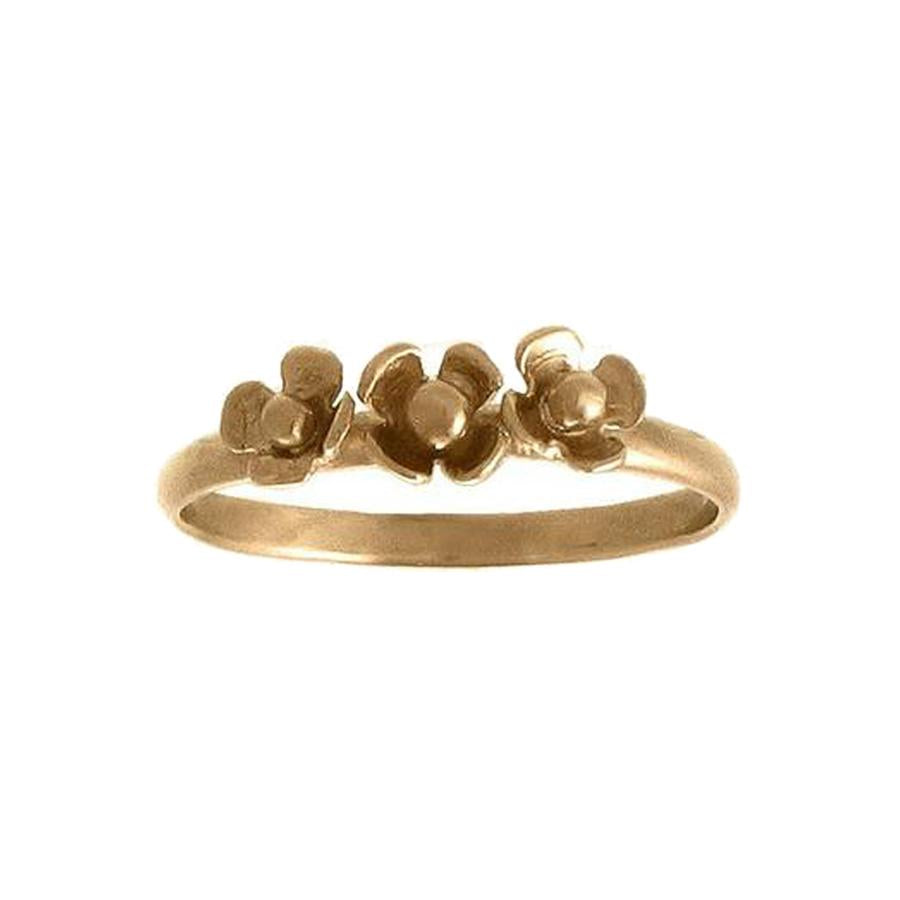 Three Flower Ring