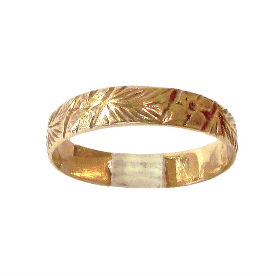 Antique Engraved Band