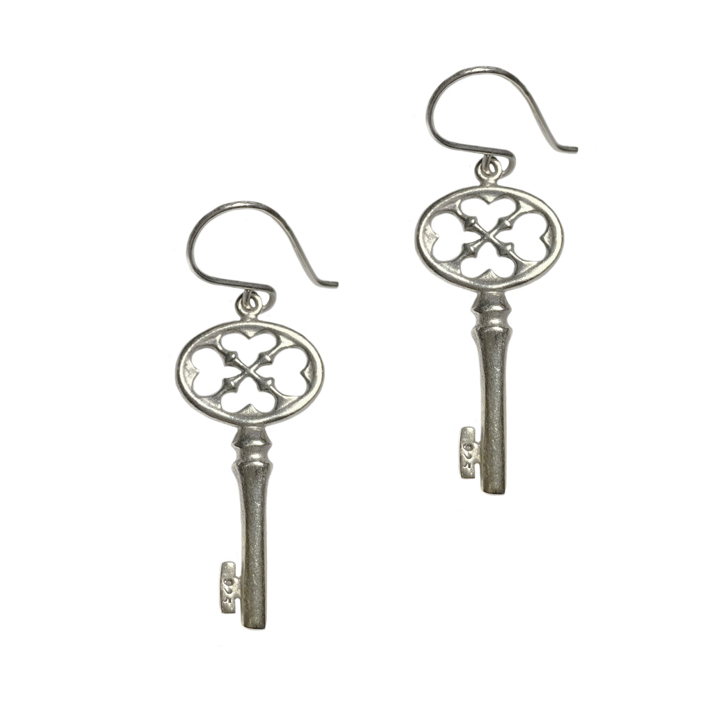 40% off! Large Key Earrings