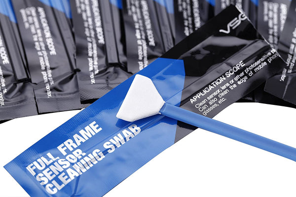 VSGO DDR-23 Full-Frame Sensor Cleaning Swabs (10 X 24mm Sensor Cleaning Swabs)