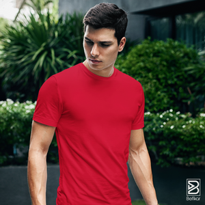 Red Solid T-Shirt