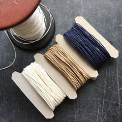 Paper twine in natural shades, black and white