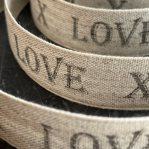 Linen Love Ribbon
