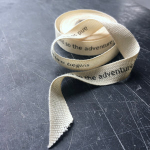 Personalised Cotton ribbon 10mm