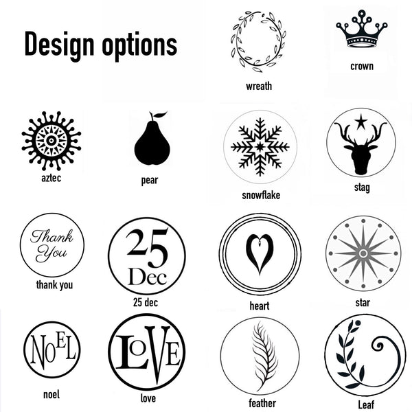 wax seal stamp designs