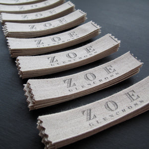 Personalised Sew In Label