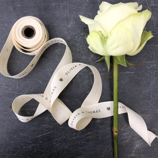 Personalised Cotton Ribbon 20mm