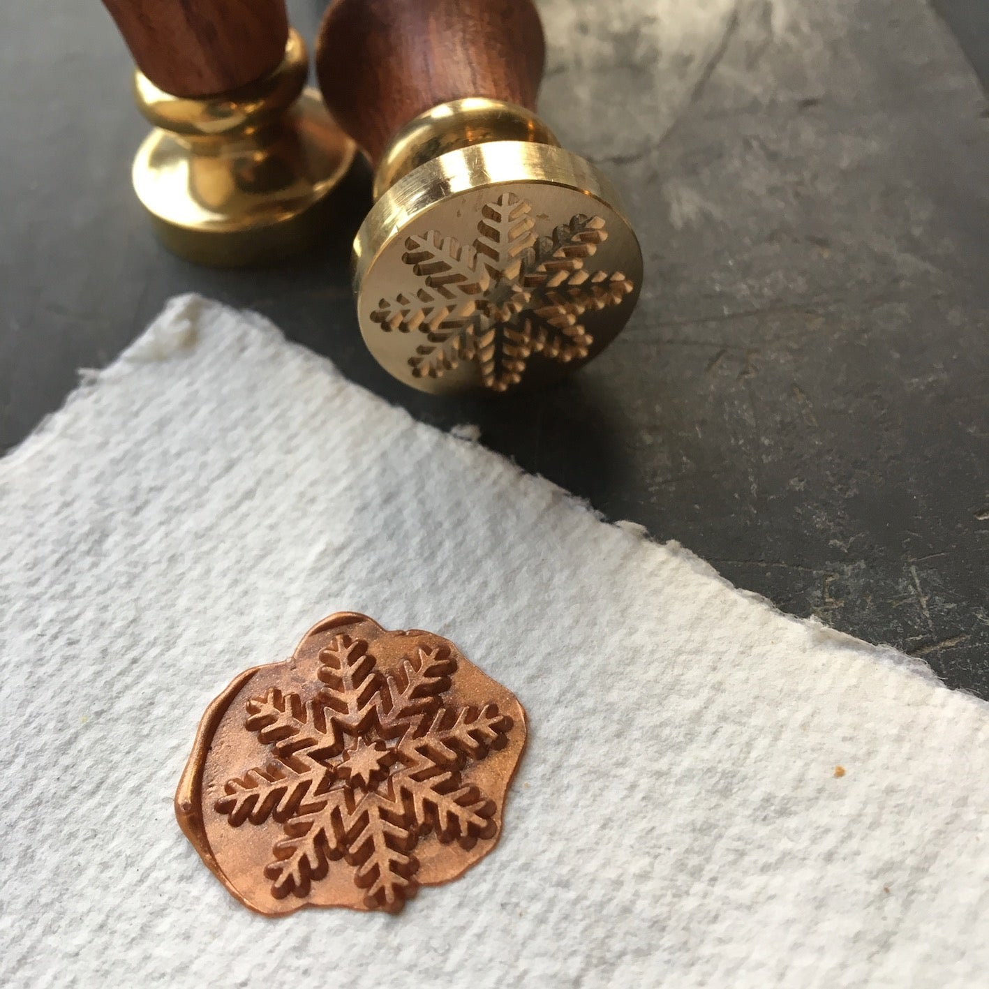 Snowflake Wax Seal