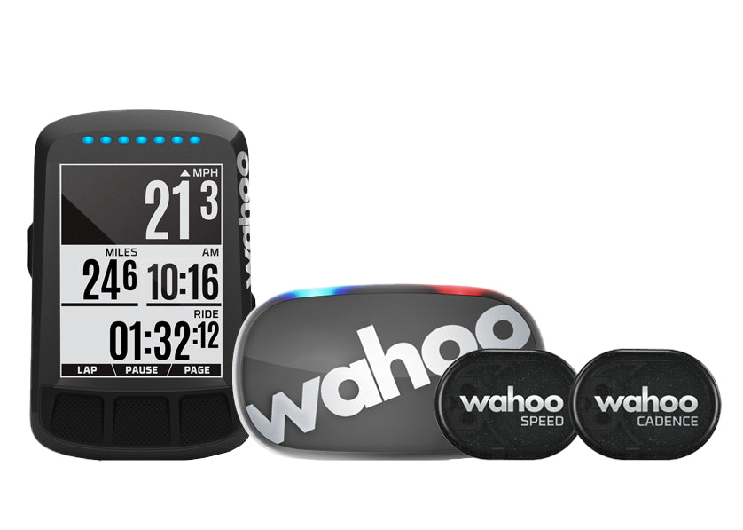 Wahoo ELEMNT BOLT GPS Bike Computer - Stealth LTD Edition - BUNDLE