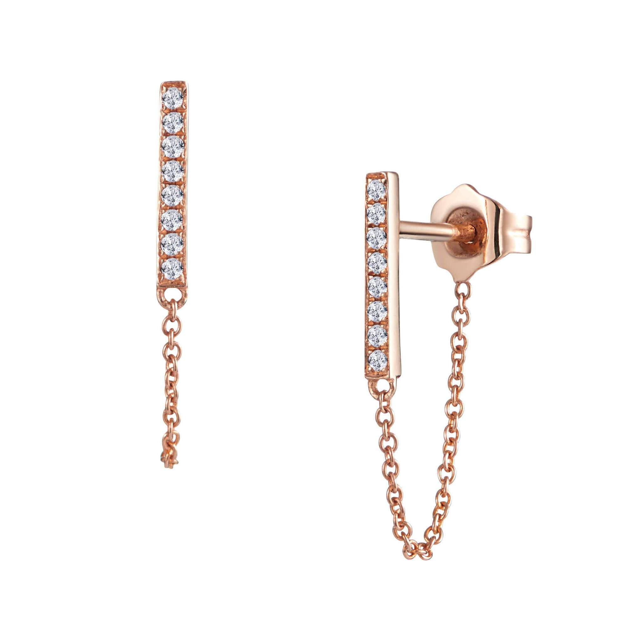 Leora Earrings Rose Gold