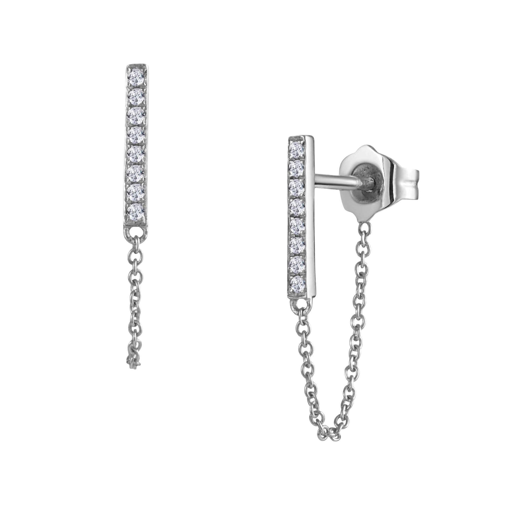 Leora Earrings White Gold